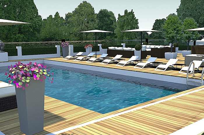 Our portfolio swimming pool design london for Swimming pool design uk