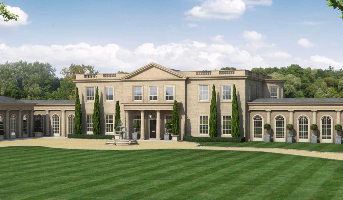 Wentworth estate surrey swimming pool design london for Pool design london