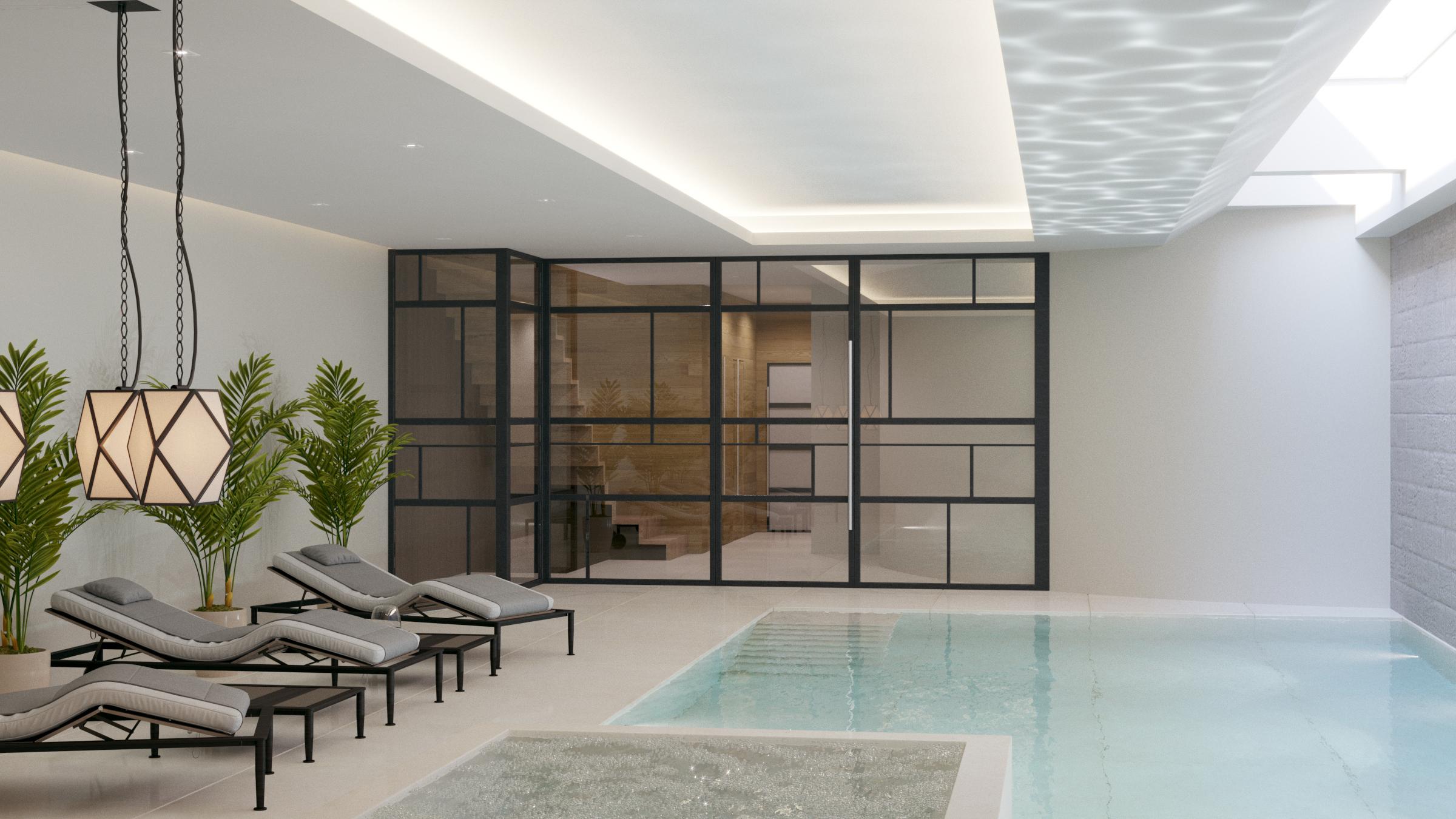 Oxford street london swimming pool design london for Pool design london